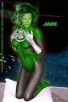 Green Lantern 'Jade' by Kryptoniteking