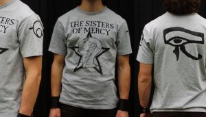 Sisters of Mercy shirt by Metalheank