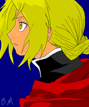Edward Elric by TaintedTamer