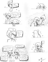 Hetalia OC One Strip Doujin *His Memories* by Fantashii