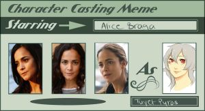 Character casting meme: Tuyet Pyros by lonehuntress