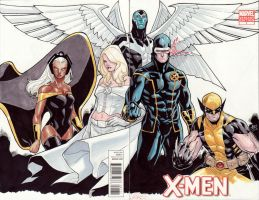 Xmen by lazeedog