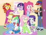 The Best(ies) Slumber Party Ever! by dm29