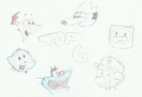 My Top 6 by Mike-TA