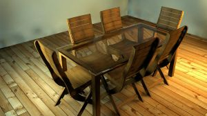Outdoor furniture 7pc set by chimxx81