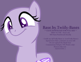 MLP Base 322 - Achievement: Overdone Flutter Face by ShiiBases