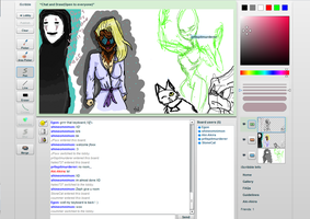 iScribble drawings -2- by MeiTakahashi