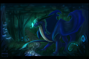 Lunar Night [Commission] by Shadow-Crystol