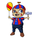 The little Balloon Boy by KuluKnightofDarkness