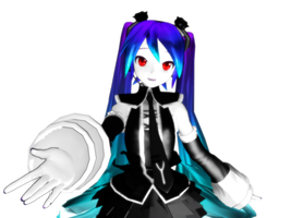 A NEW DT modle IN MMD by KamineLover