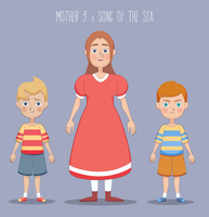 Mother 3 x Song of the Sea by white-yoshi