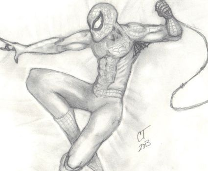 Spiderman by ChrisTeel72886