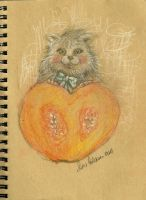 Heart of pumpkin by FiabeSCa