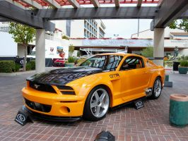 ORANGE 2005 Mustang GT R 5.0 by Partywave