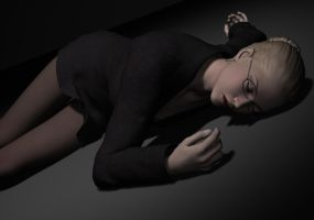 Penelope Poses Unconscious 4 by Torqual3D