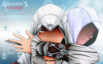 Ezio and Altair by catgirl1431