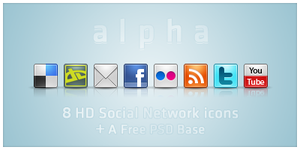 alpha icons by Beesign
