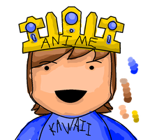 15 Minute Doodles - THE ANIME KING by Chengineer