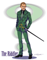 The Riddler- Frank Gorshin by DJCoulz