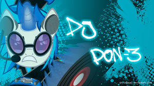 Vinyl Scratch WP by Candy-Muffin