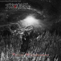 Synteleia-black-metal-greece-front-cd-album-cover- by MOONRINGDESIGN