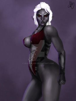 Dark Elf by JLazarusEB