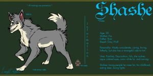 Shashe ref. - Commission by LoupDeMort