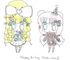 Happy Birthday Halfbloodpandaprince! by Bunny333501