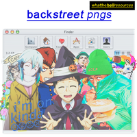Backstreet | PNGS by WhatTheHellResources