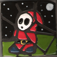 Shy Guy Mosaic by ShadowScarKnight