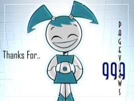 Thanks for 999 Pageviews by WittNV