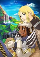 Knights - Mist x Leo by Autumn-Sacura