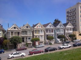 Painted Ladies by oZiall