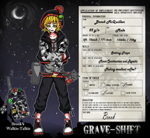 Grave-Shift App : Brook McQuillen by AkI-cHanx3