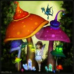 Whimsical Woods by kissmypixels