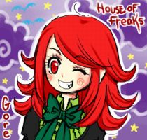 House of Freaks Gore by mslckitty