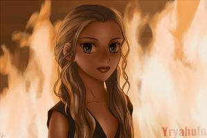 Queen of Fire by Yrya-chan