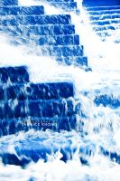Blue Stairs of Water II by confucius-zero