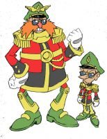 Alternate Robotnik and Snively 2 by Yardley