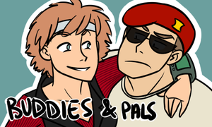 Chase and Boone, Buddies and Pals! by pattyycake