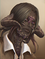 FFXIV: Painted Scales by VergilRenata