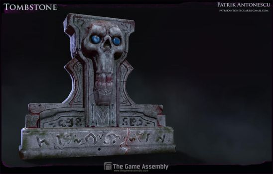 Tombstone by Bjulvar