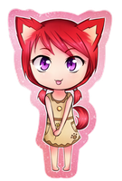 Scarlet Chibi by Techkit