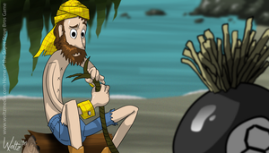 Woody in Cast Away by fruoit