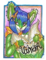 Watercolor Badges 3: Vinera by Blattaphile