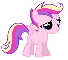 Scootaloo in Princess Cadence's colors by AdolfWolfed4Life