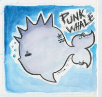 PUNK WHALE by ChibiCelina