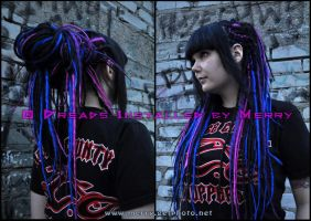 Dreads again lalala by Masquerade-Infernale