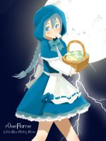 Little Blue Riding Rose by Etherland