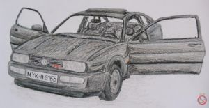 VW Corrado G60 by shadowhatesomochao